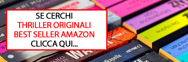 libri thriller best seller amazon